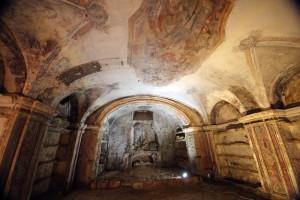 Palermo 2072014 ( FOTO PETYX PALERMO) cripta chiesa dei cocchieri madonna dell'itria